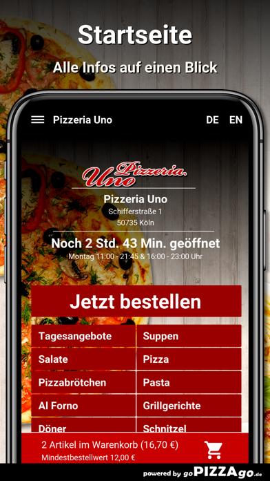 Pizzeria Uno Köln screenshot 2