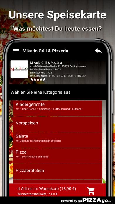 Mikado-Grill Oerlinghausen screenshot 4