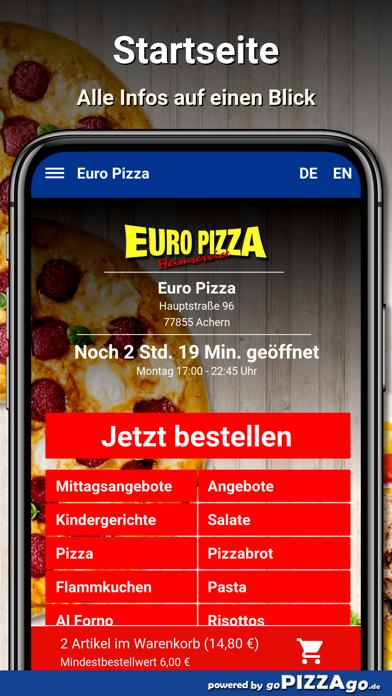 Euro Pizza Achern screenshot 2