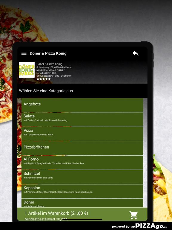 Döner & Pizza König Gladbeck screenshot 8