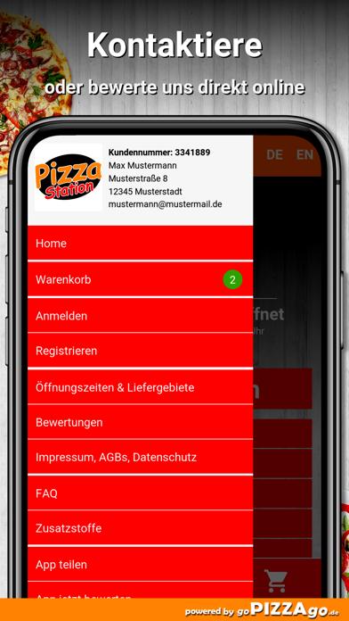 Pizza-Station Reichenbach screenshot 3