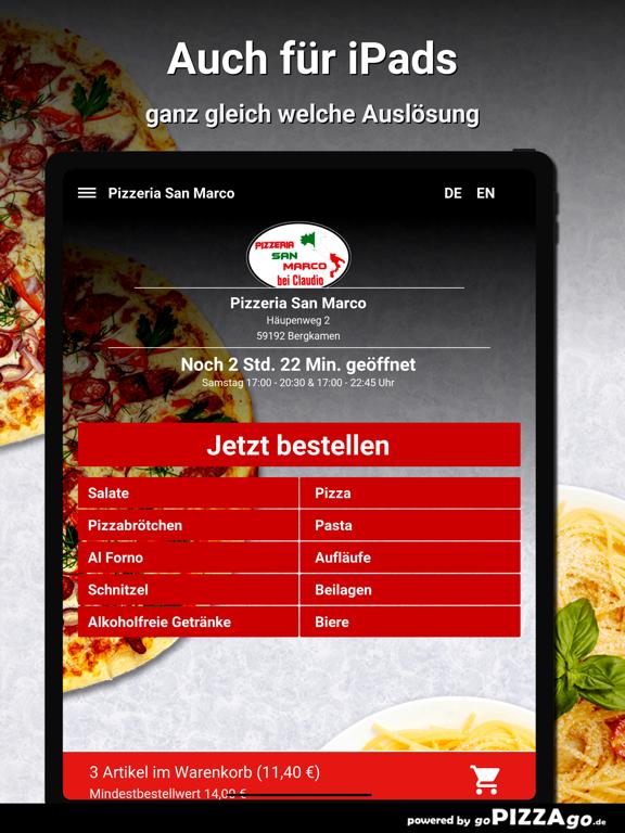 Pizzeria San Marco Bergkamen screenshot 7