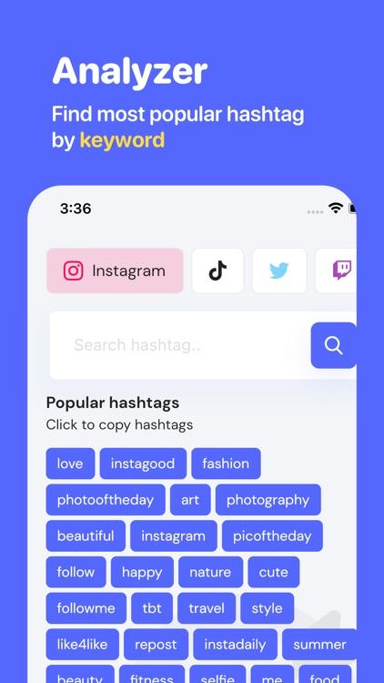 FameHunt - Hashtag Tool