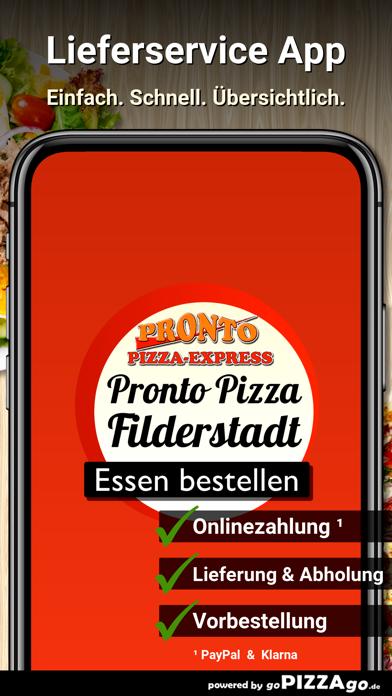 Pronto Filderstadt Bernhausen screenshot 1