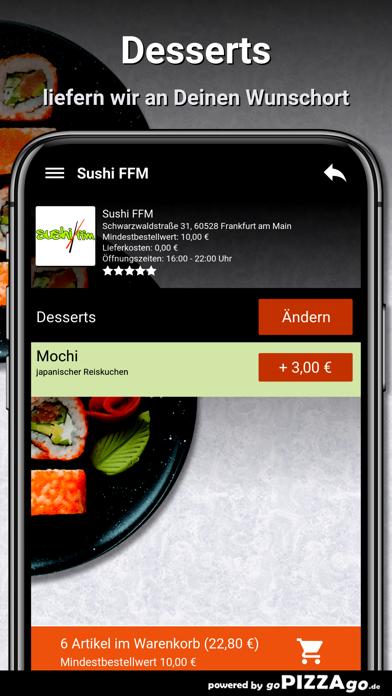 Sushi FFM Frankfurt am Main screenshot 6