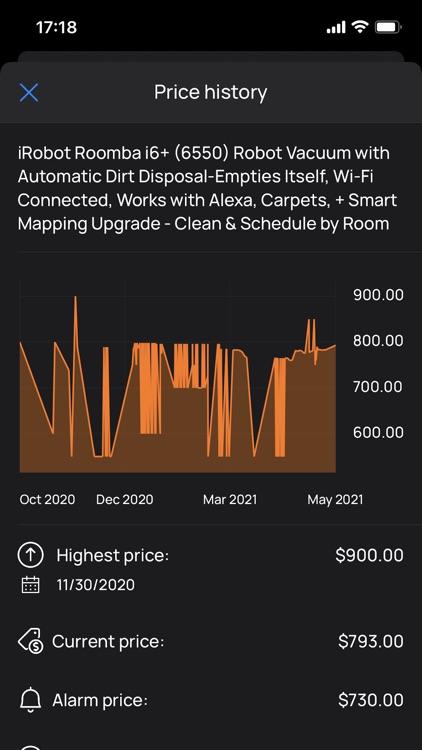 Dexter Price Alert for Amazon screenshot-6