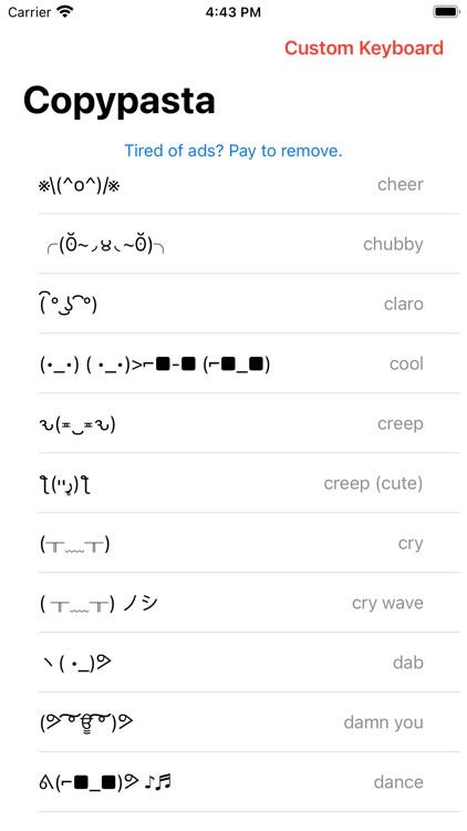 Copypasta Keyboard screenshot-5