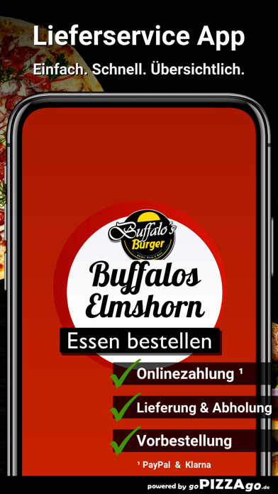 Buffalos Burger Elmshorn screenshot 1