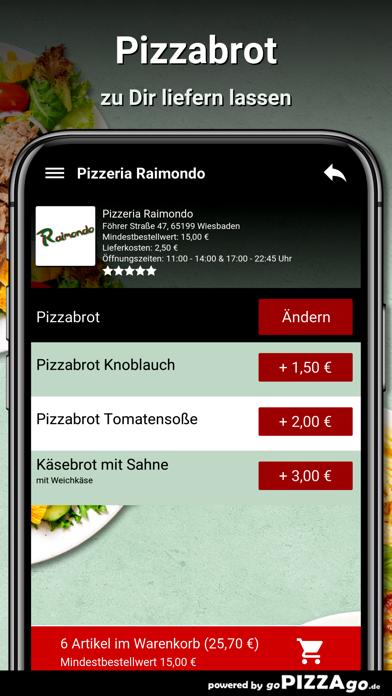 Pizzeria Raimondo Wiesbaden screenshot 5