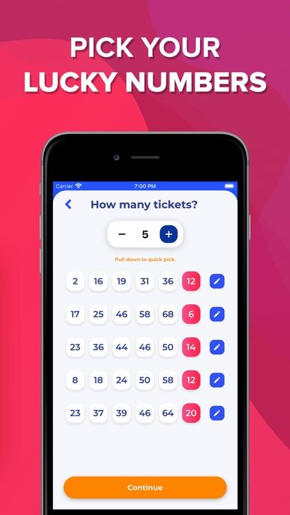 LottoFish: The Lottery App screenshot-3