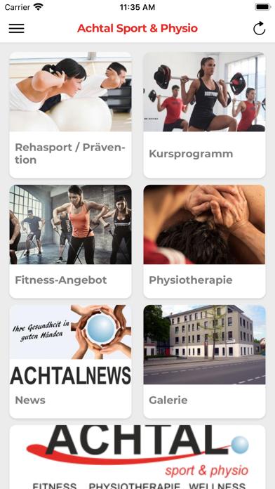 Achtal Sport & PhysioScreenshot von 1