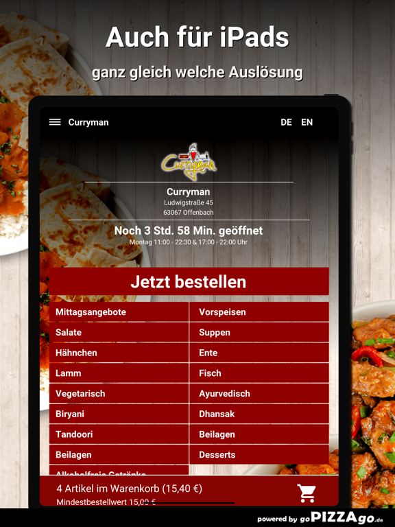 Curryman Offenbach screenshot 7