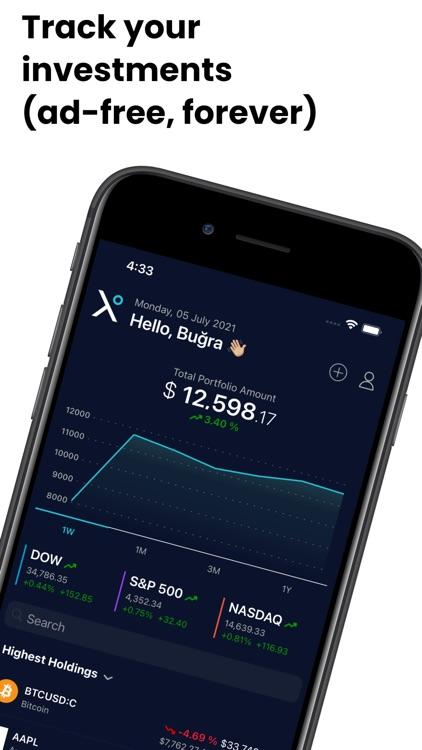 Stox: Stock & Crypto Widget