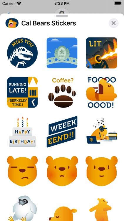 Cal Bears Stickers screenshot-4