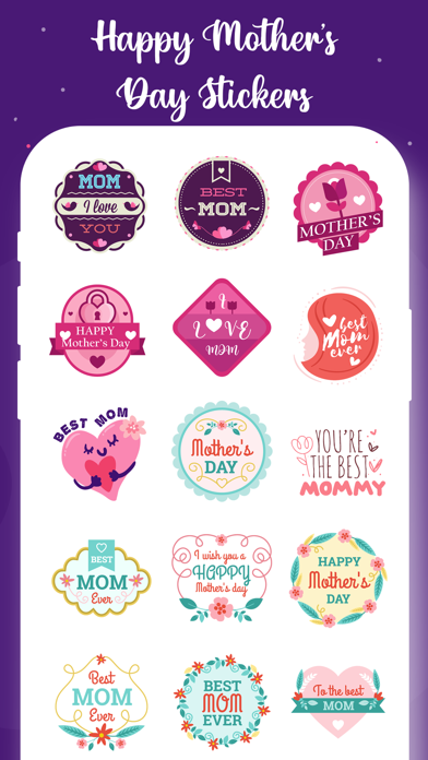 Mother's Day Stickers! screenshot 3