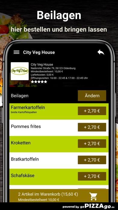 City Veg House Oldenburg screenshot 6