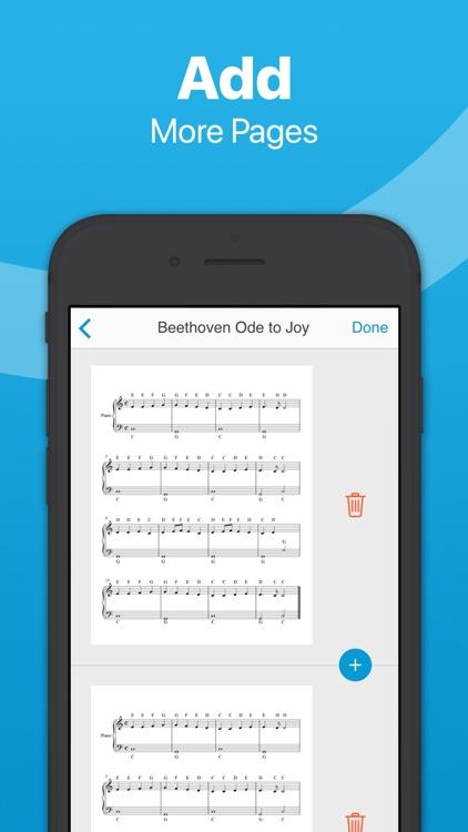 Sheet Music Scanner screenshot-7