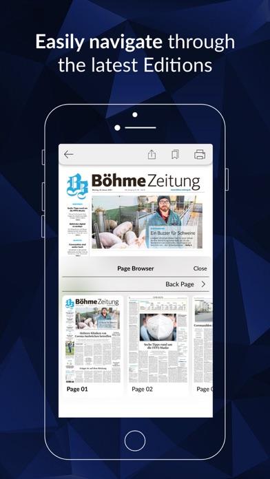 Böhme-Zeitung screenshot 2
