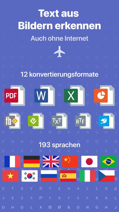 Dokumenten Scanner: FineReaderScreenshot von 2
