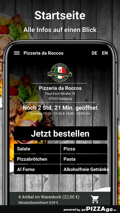 Pizzeria da Roccos Duisburg screenshot 2