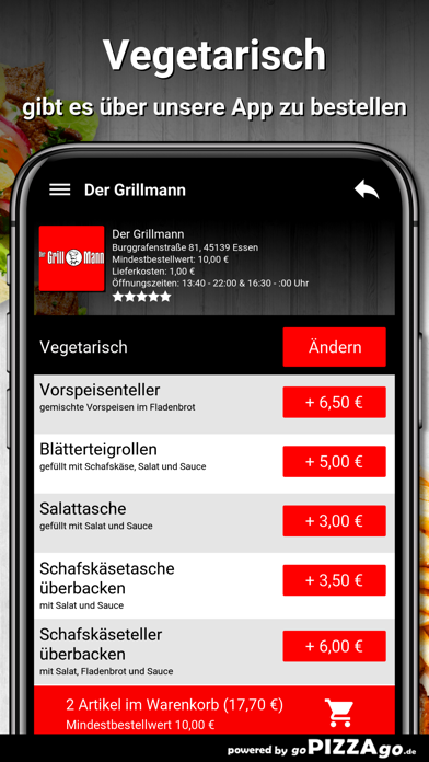 Der Grillmann Essen screenshot 6