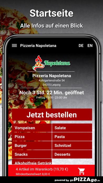 Pizzeria Napoletana Leipzig screenshot 2
