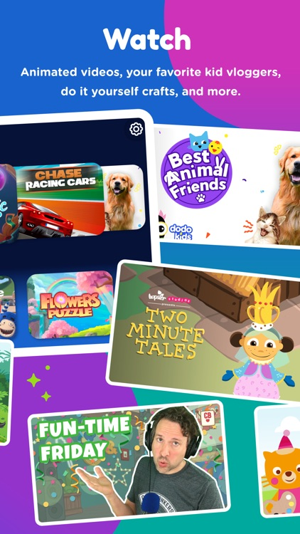 Kidomi Games & Videos for Kids