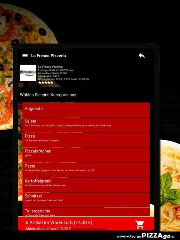 La Fresco Pizzeria Essen screenshot 8