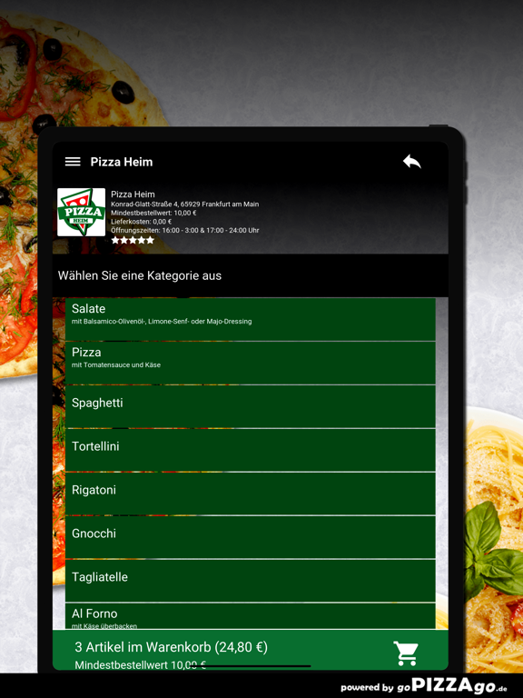 Pizza Heim Frankfurt am Main screenshot 8