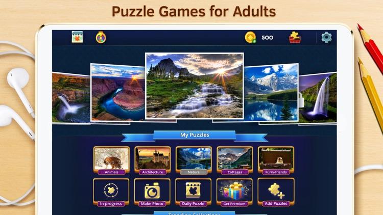 Best Jigsaw Puzzles HD screenshot-6