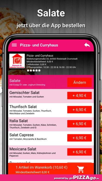 Pizza- und Curryhaus Riedstadt screenshot 5