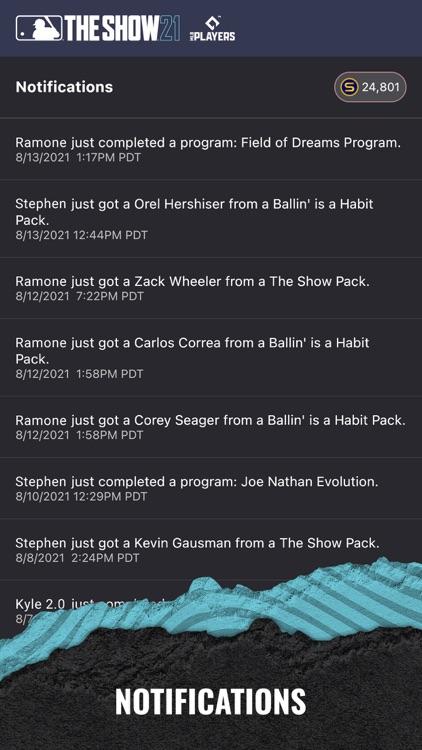 MLB The Show 21 Companion App screenshot-3