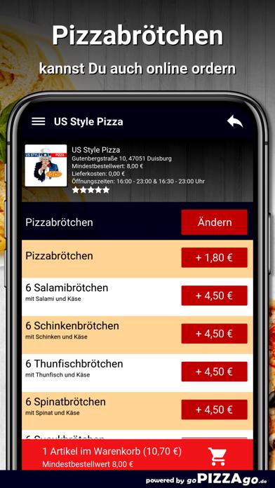 US Style Pizza Duisburg screenshot 5