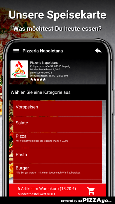 Pizzeria Napoletana Leipzig screenshot 4