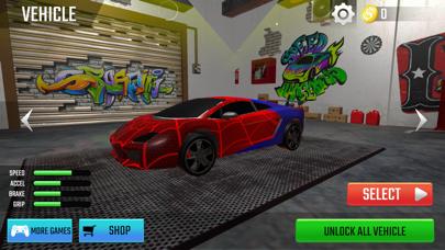 SuperHero Ramp Car Stunt 3D screenshot 3