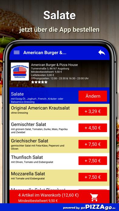 American Burger Augsburg screenshot 5