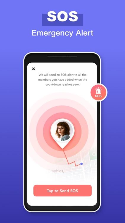 WRU: Find Family,Friends,Phone screenshot-6