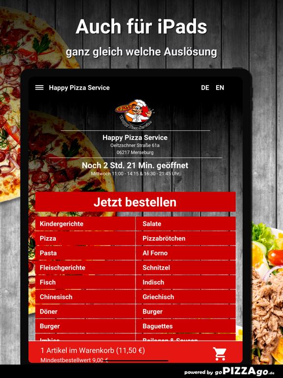 Happy Pizza Service Merseburg screenshot 7