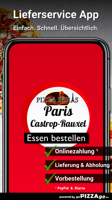 Pizza Paris Castrop-Rauxel screenshot 1