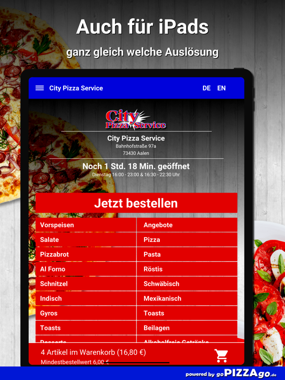 City Pizza Service Aalen screenshot 7