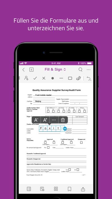 Foxit PDF EditorScreenshot von 6