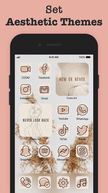 Fonts Art - Fonts for iPhones screenshot-0