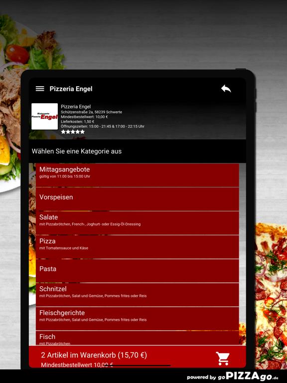 Pizzeria Engel Schwerte screenshot 8