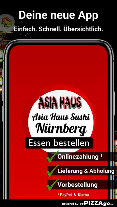 Asia-Haus Sushi Nürnberg screenshot 1