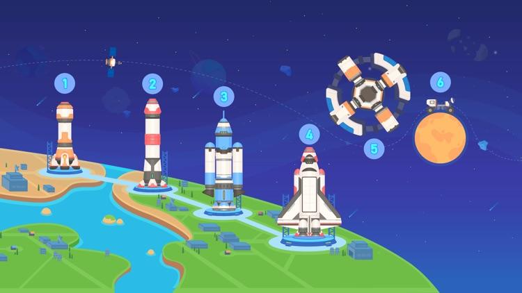 Dinosaur Rocket Games for kids screenshot-3