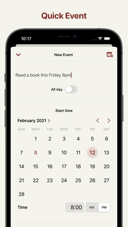 Clendar - minimal calendar