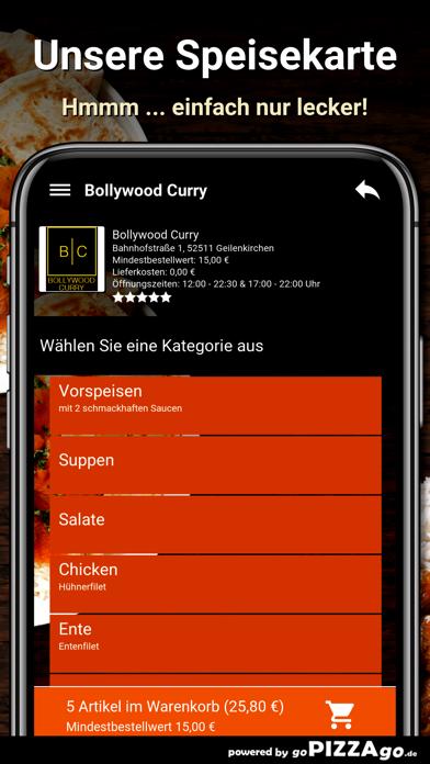 Bollywood Curry Geilenkirchen screenshot 4