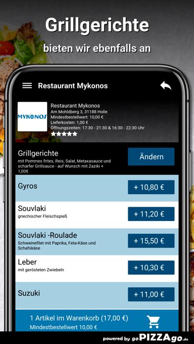 Restaurant Mykonos Holle screenshot 6