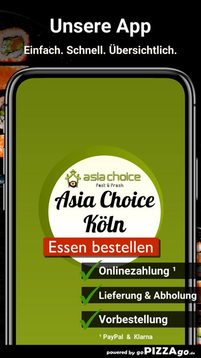 Asia Choice Köln screenshot 1