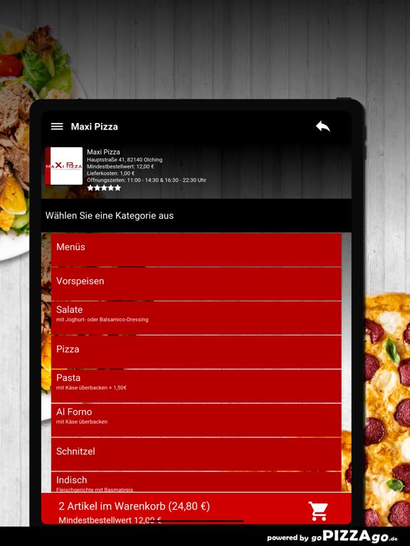 Maxi Pizza Olching screenshot 8